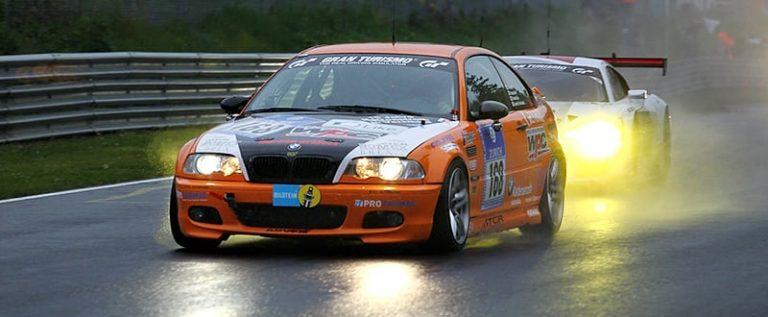 Jaco's Paddock Motorsport BMW in the Nurburgring 24h Race